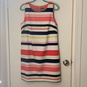 Multicolor Shift Dress